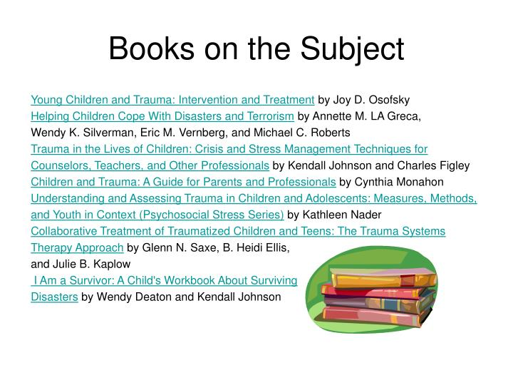 Books on the Subject