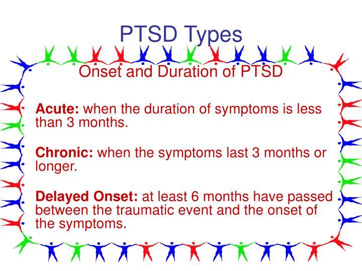 PTSD Types