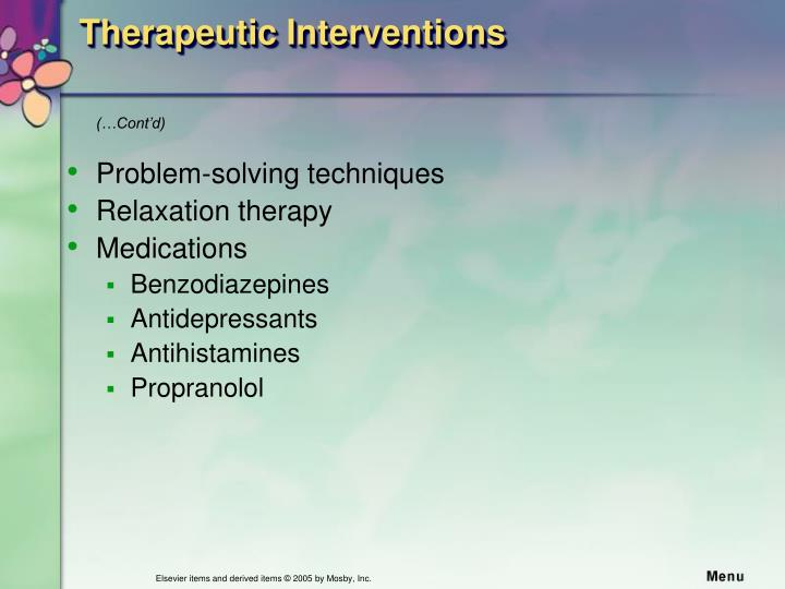 therapeutic interventions Social work interventions are combinations of skills applied by practitioners,  meaning of intervention in social work intervention is rarely defined.
