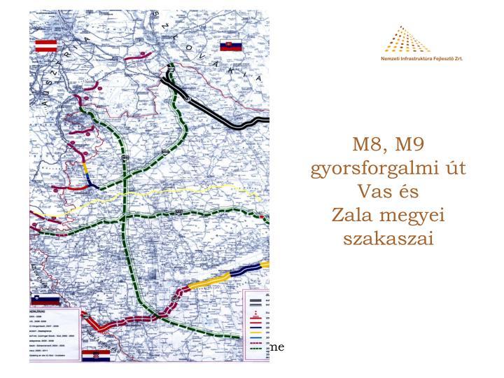 M8, M9 gyorsforgalmi út