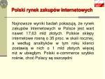 polski rynek zakup w internetowych