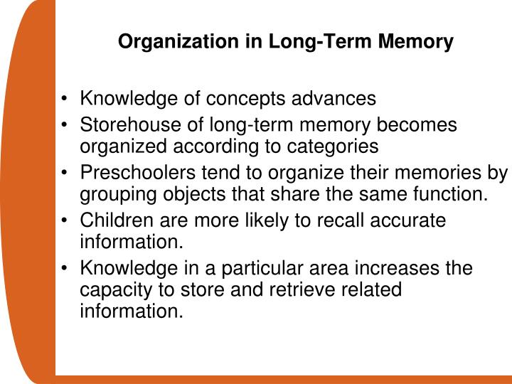 Organization in Long-Term Memory