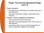 piaget the concrete operational stage cont d1