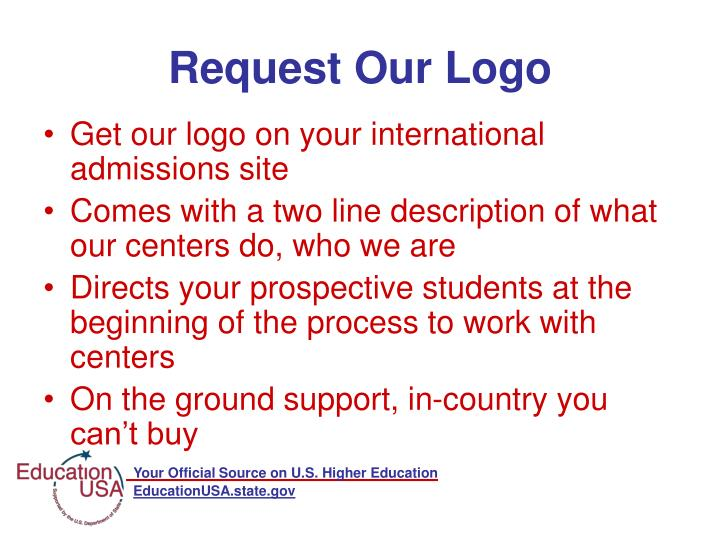 Request Our Logo