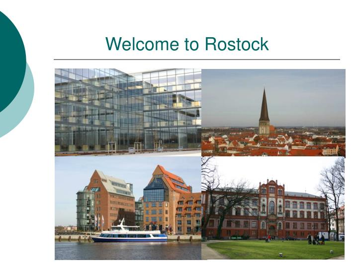 Welcome to Rostock