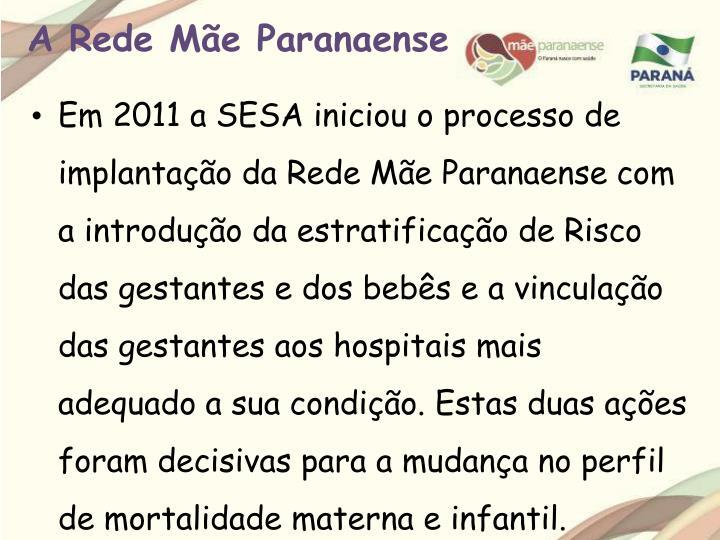 A Rede Mãe Paranaense