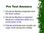 pre test answers1