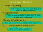stevenage concerns