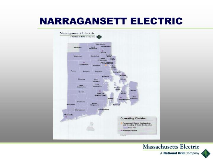 NARRAGANSETT ELECTRIC