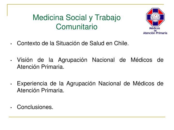 Contexto de la Situación de Salud en Chile.