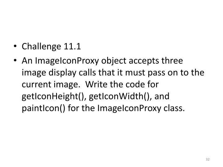 Challenge 11.1