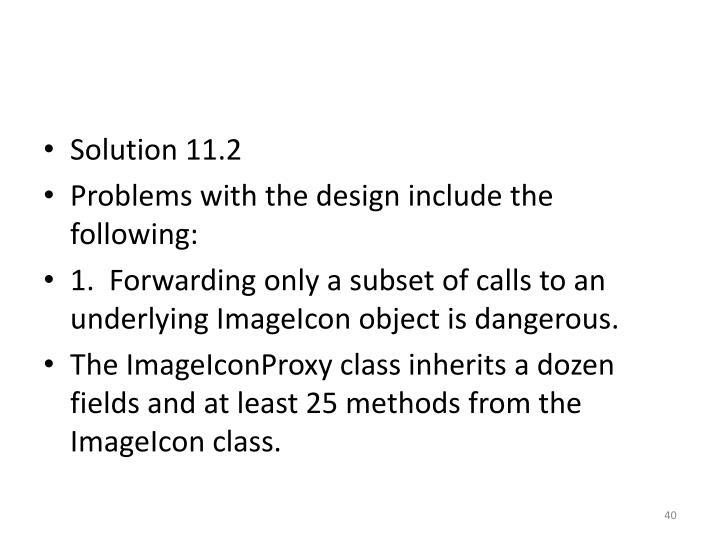 Solution 11.2