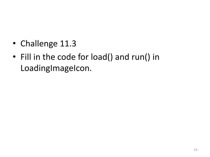Challenge 11.3
