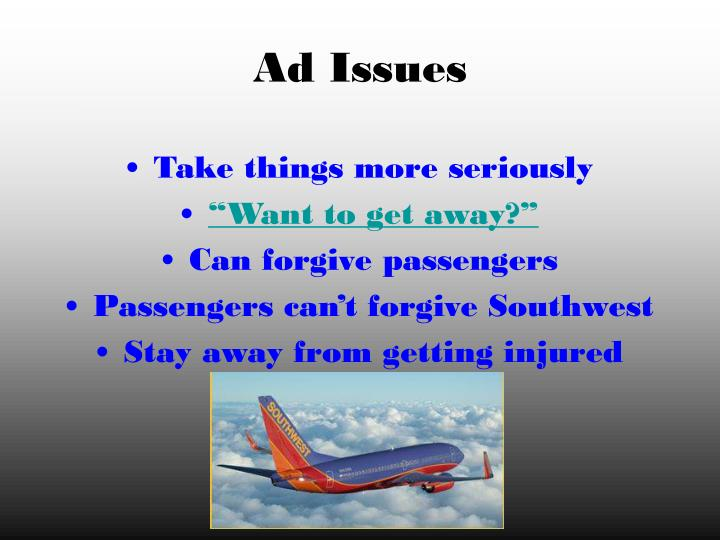 Ad Issues
