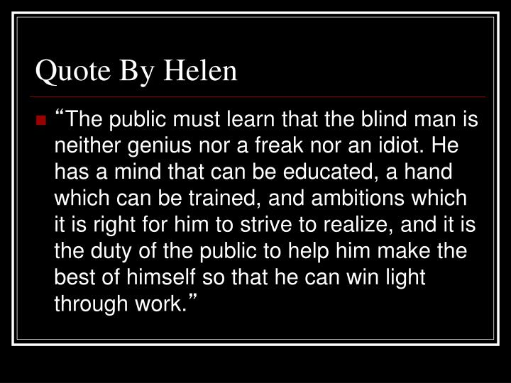 Quote By Helen