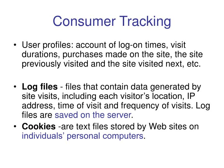 Consumer Tracking