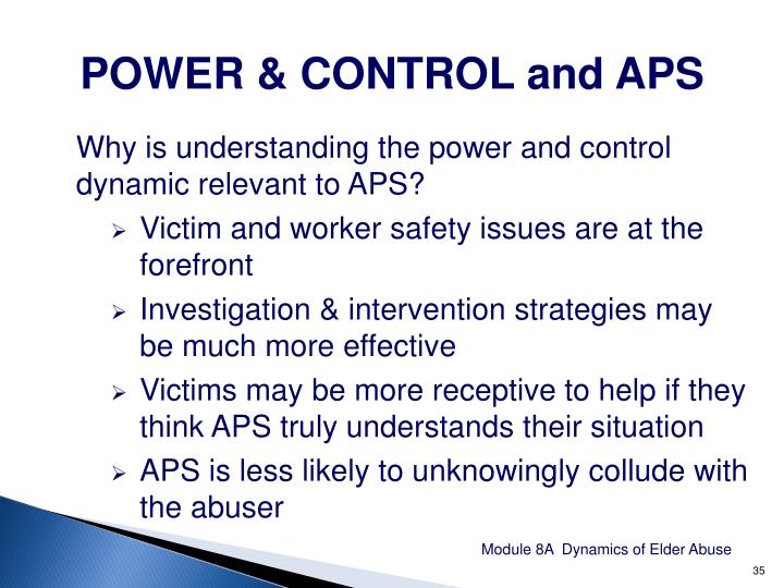 POWER & CONTROL and APS