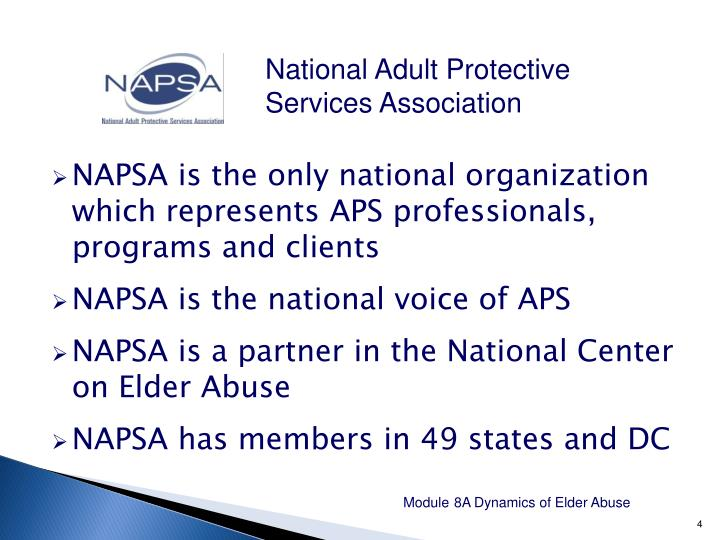National Adult Protective Services Association