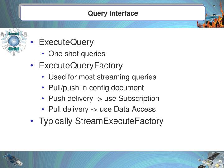 Query Interface