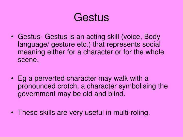 Gestus