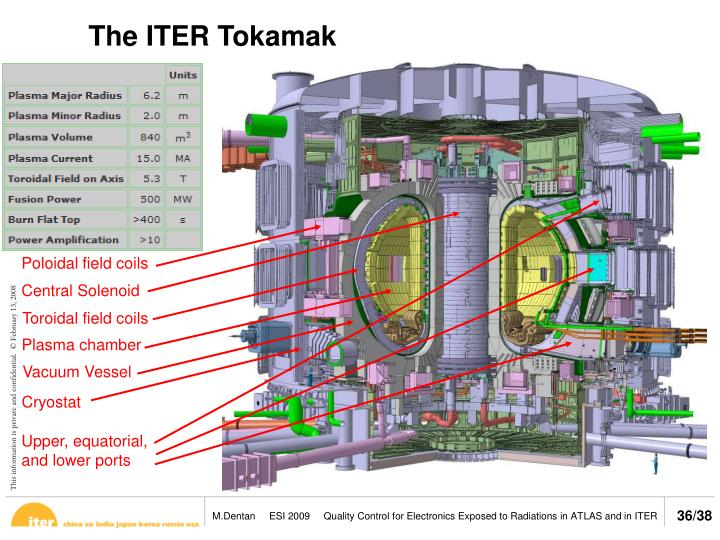 The ITER Tokamak