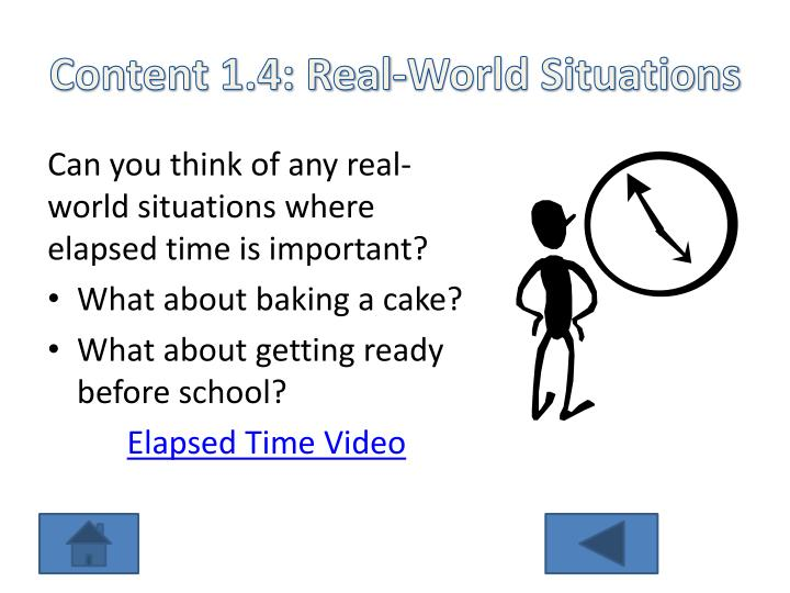Content 1.4: Real-World Situations