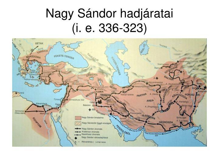 Nagy Sándor hadjáratai