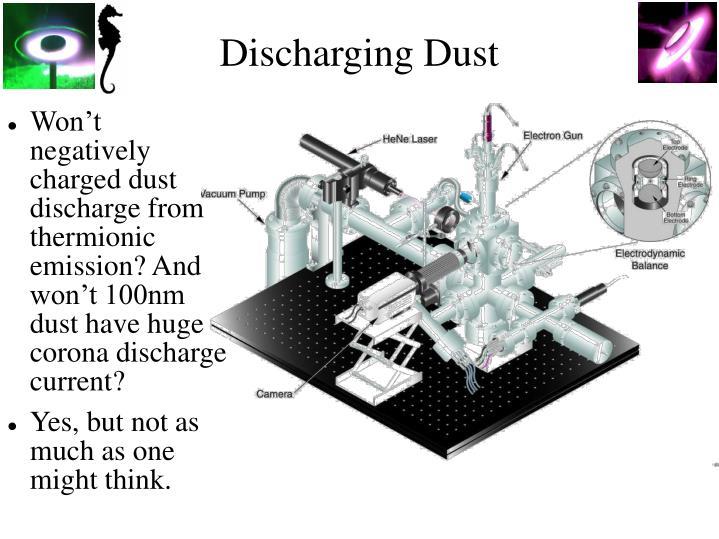 Discharging Dust
