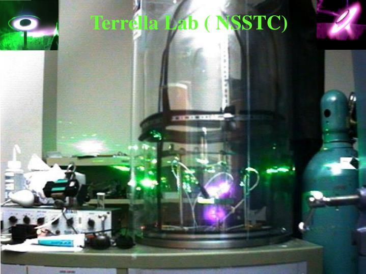 Terrella Lab ( NSSTC)