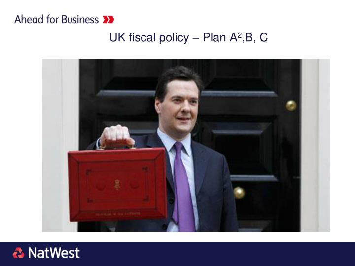 UK fiscal policy – Plan A