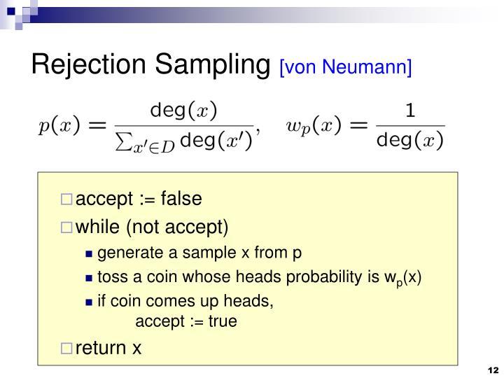 Rejection Sampling