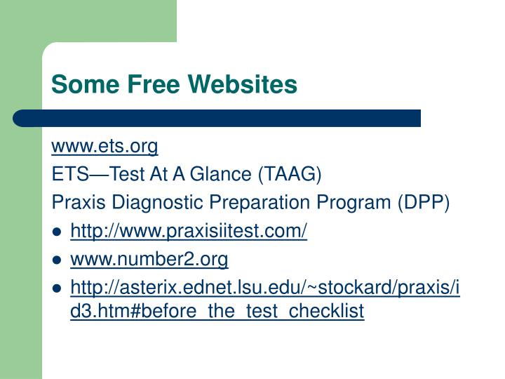 Some Free Websites