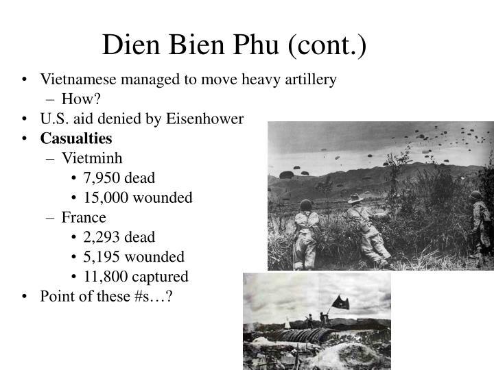 Dien Bien Phu (cont.)