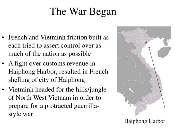 The War Began
