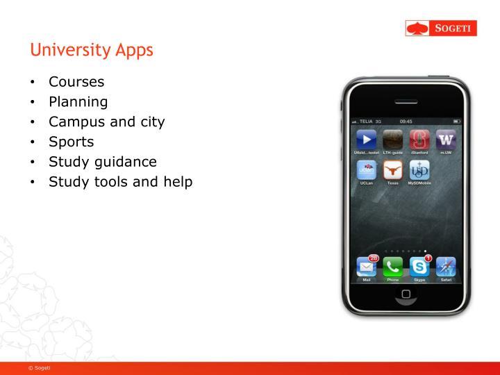 University Apps