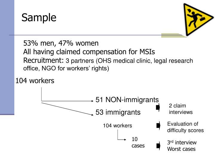 51 NON-immigrants