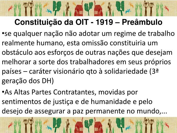 Constituição da OIT