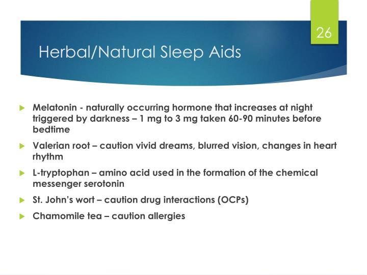 otc natural sleep aids