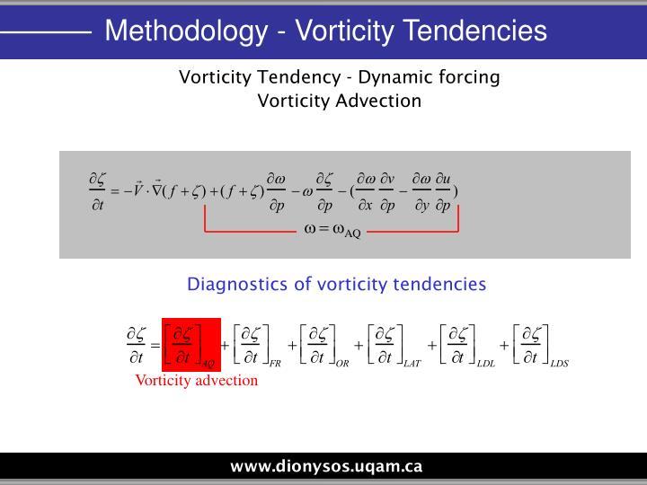 Vorticity advection