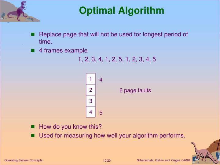 Optimal Algorithm