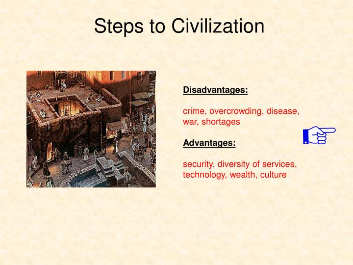 Steps to Civilization
