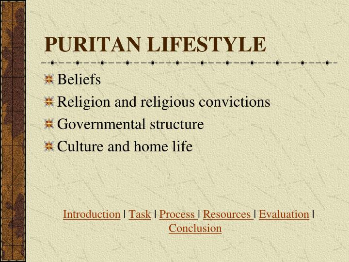PURITAN LIFESTYLE