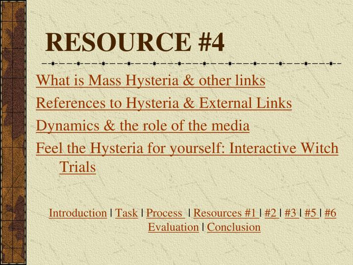 RESOURCE #4