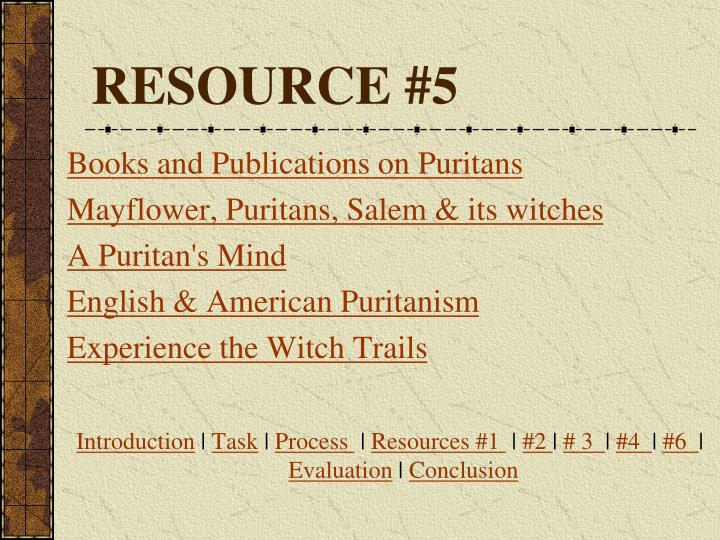 RESOURCE #5