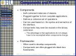 components and frameworks