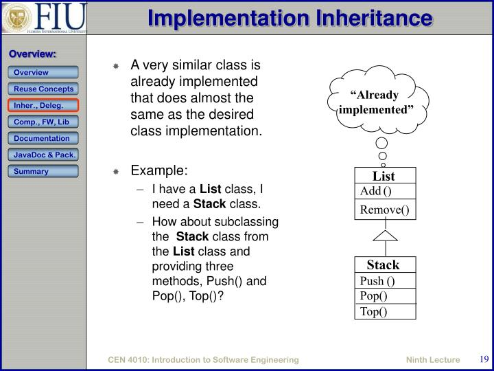 A very similar class is already implemented that does almost the same as the desired class implementation.