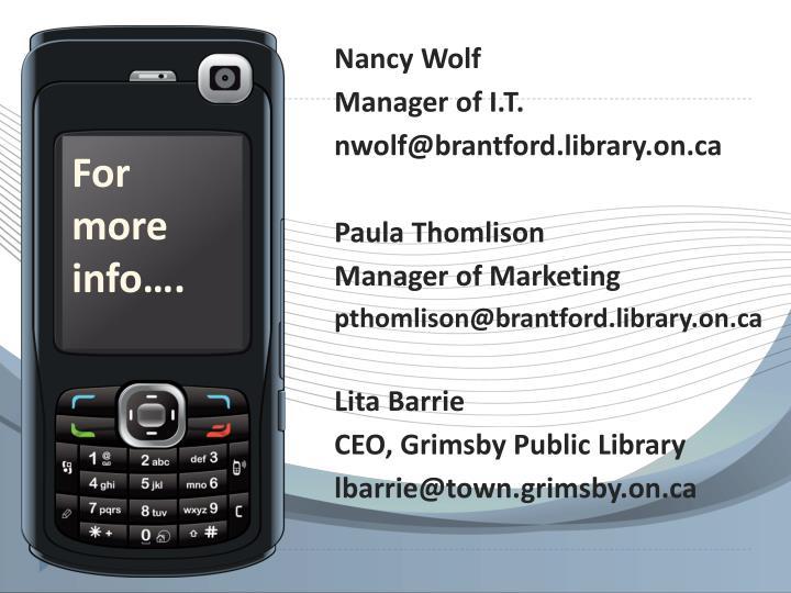 Nancy Wolf
