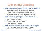 grids and hep computing