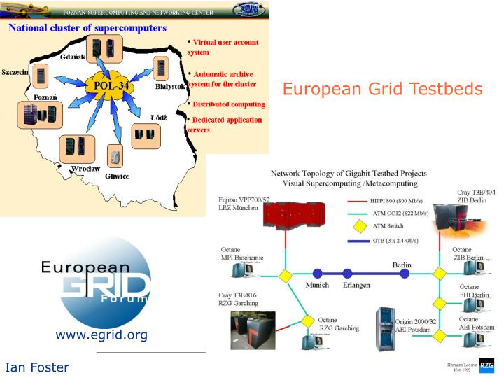 European Grid Testbeds