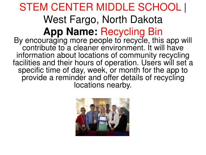 STEM CENTER MIDDLE SCHOOL